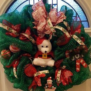 Other - Polar Bear Christmas Wreath